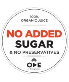 3444 Ode to Pomegranate  ODE Granatapfelsaft 250ml BIO 100%