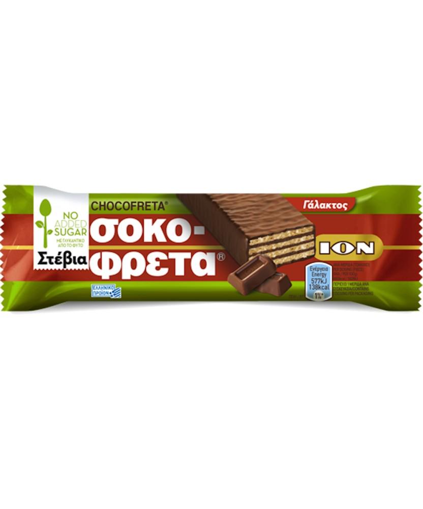 5856 ION  Schokofreta Schokowaffel mit Stevia