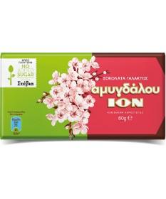 5899 ION  Mandelschokolade mit Stevia 60g