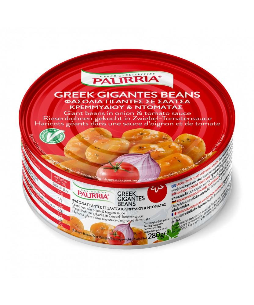1025 Palirria  Riesenbohnen gekocht in Zwiebel-Tomatensauce 280g