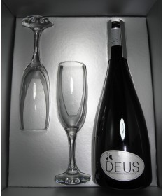 3386 Cavino  Deus Naturschaumwein Geschenkverpackung