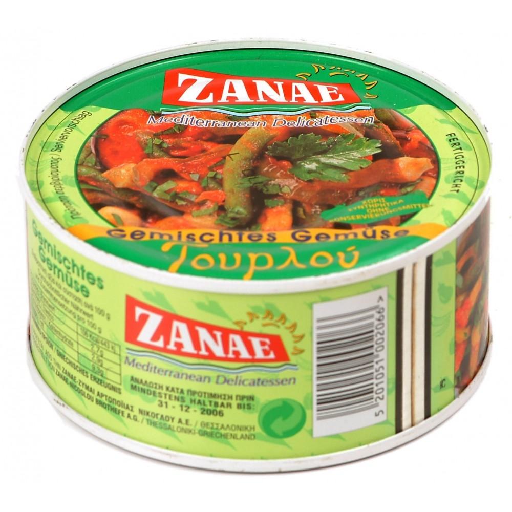 1097 ZANAE  Gemischtes Gemüse ZANAE 280g