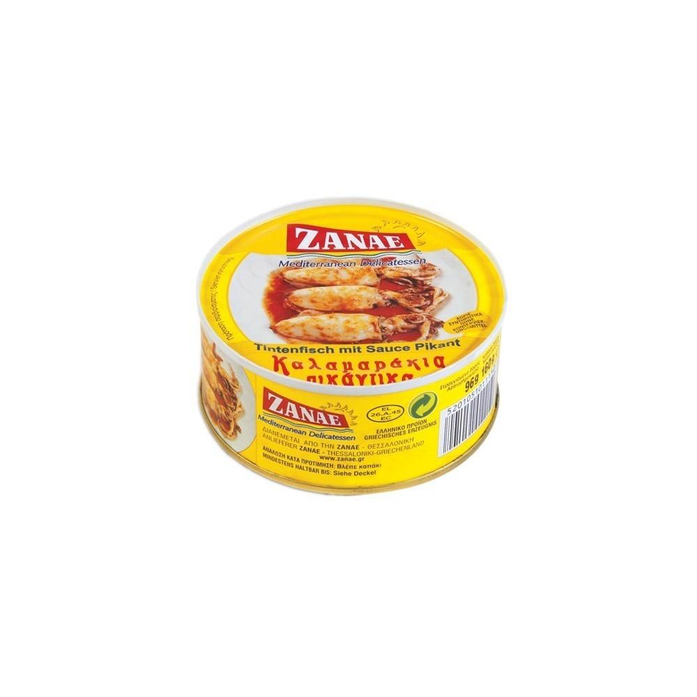 1181 ZANAE  Tintenfisch mit Soße pikant ZANAE 185g