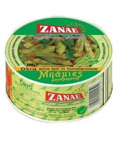 1023 ZANAE  Okras extra fein in Tomatensoße ZANAE 280g
