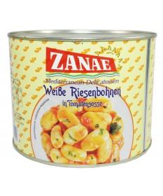 1791 ZANAE  Weiße Riesenbohnen in Tomatensoße 2Kg