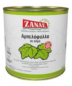 1574 ZANAE  Weinblätter in Salzlake 2,4Kg