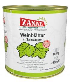 1574 ZANAE  Weinblätter in Salzlake ZANAE 2,4Kg